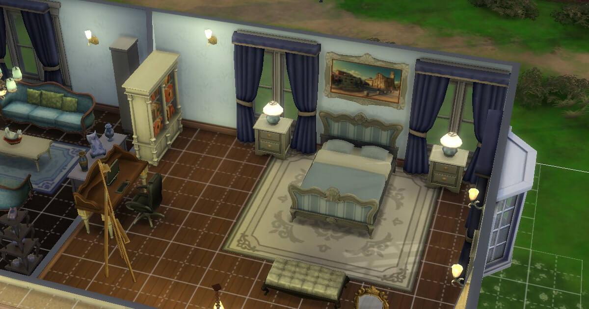 sims4の三浦家春人の部屋