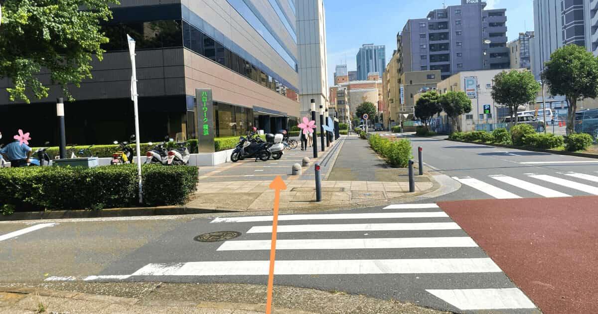 ハローワーク横浜の関内駅からの行き方を解説する画像12