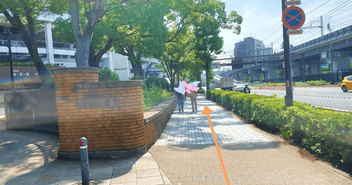 ハローワーク横浜の関内駅からの行き方を解説する画像6