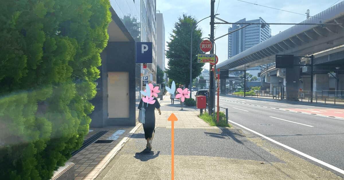 ハローワーク横浜の関内からの行き方を解説する画像9
