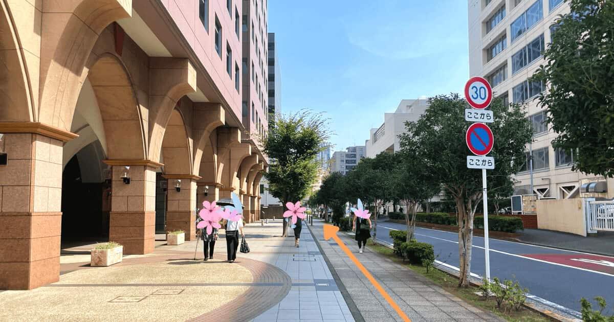 ハローワーク横浜の関内駅からの行き方を解説する画像11