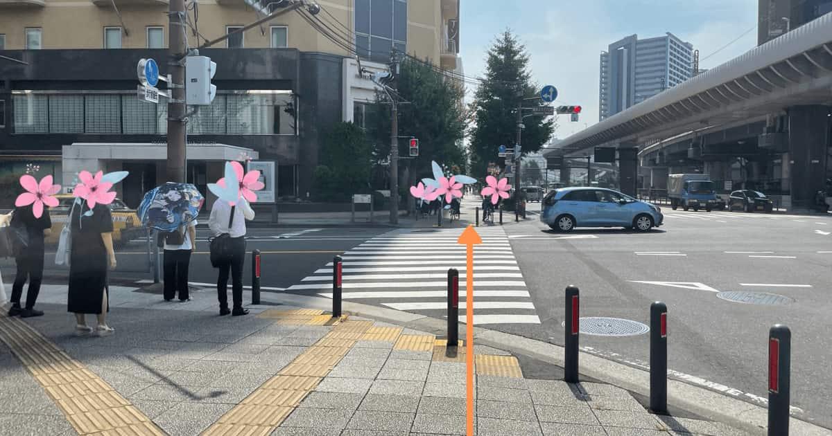 ハローワーク横浜の関内駅からの行き方を解説する画像8