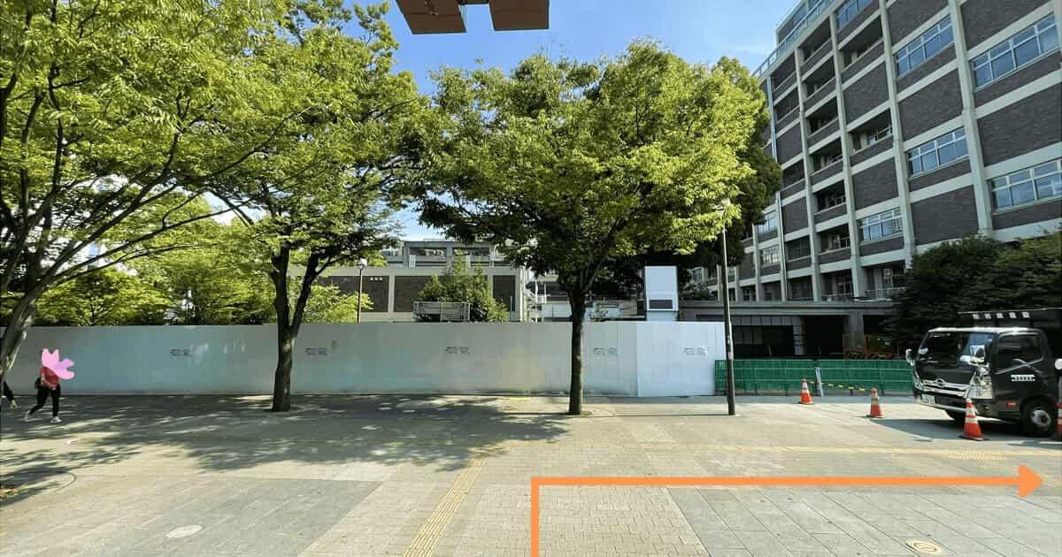ハローワーク横浜の関内駅からの行き方を解説する画像3