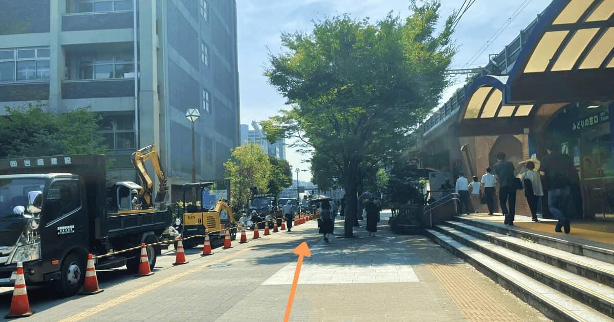 ハローワーク横浜の関内駅からの行き方を解説する画像4