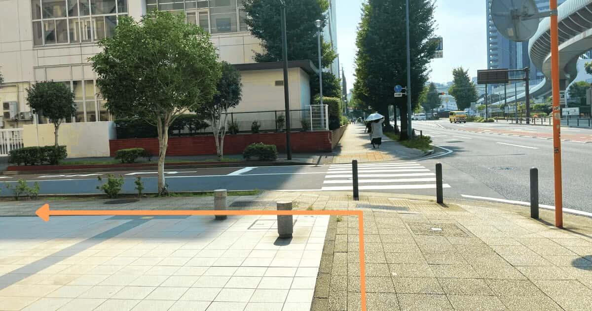 ハローワーク横浜の関内駅からの行き方を解説する画像10
