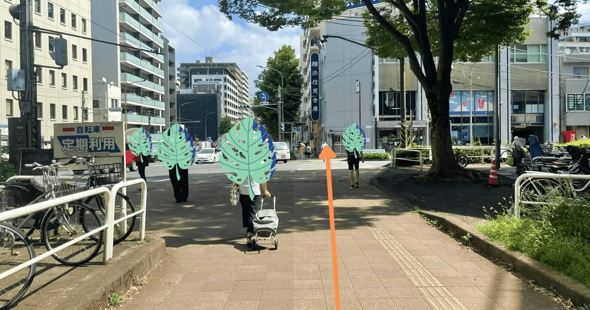 反町駅から神奈川区役所までのアクセス方法(行き方)を解説④