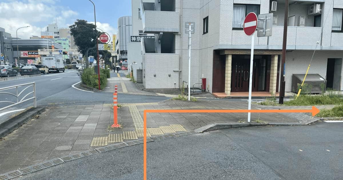 反町駅から神奈川区役所までのアクセス方法(行き方)を解説⑧