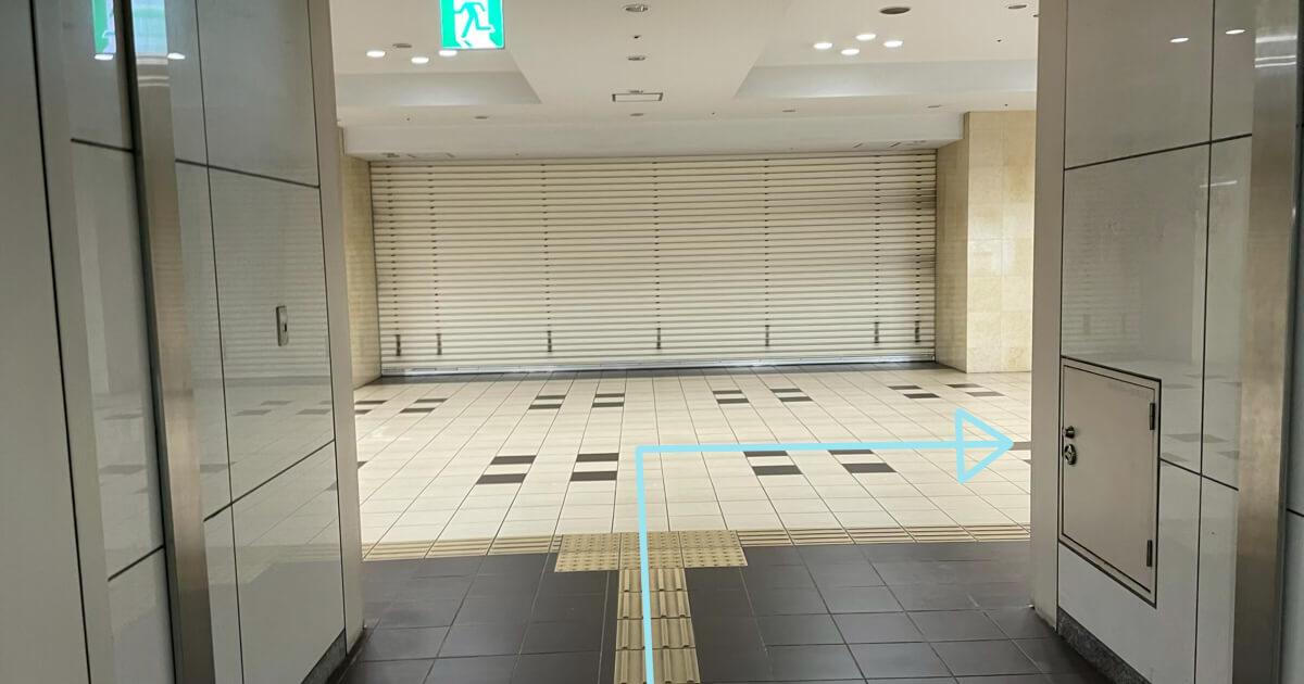上大岡駅からTOHOシネマズ上大岡のアクセス方法を解説4