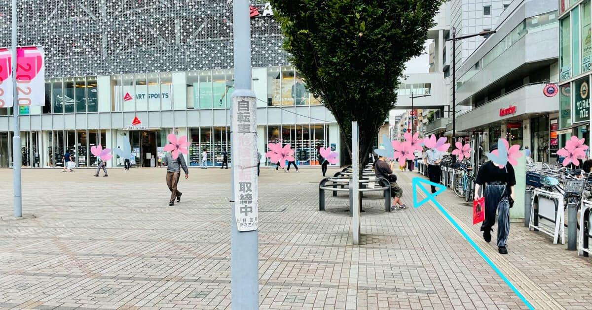 御徒町駅からTOHOシネマズ上野のアクセス方法を解説3