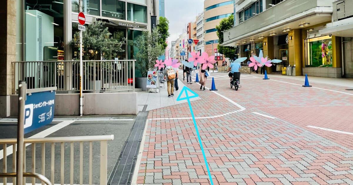 御徒町駅からTOHOシネマズ上野のアクセス方法を解説4