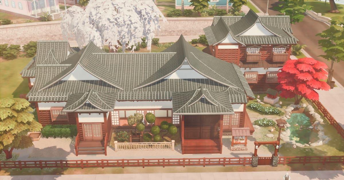sims4の屋敷