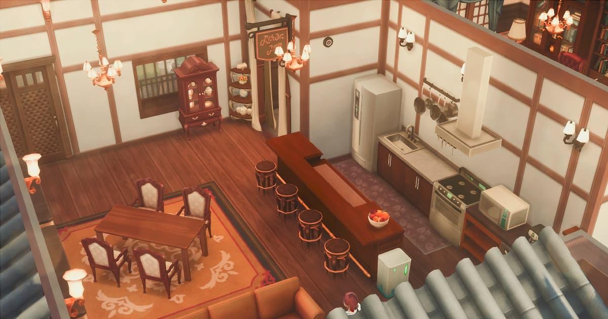 久々宮家のキッチン