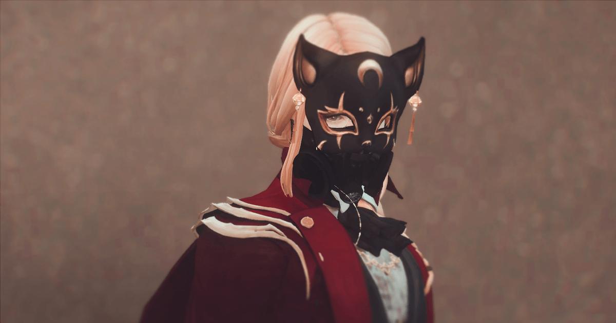 仮面をした怪盗クロード