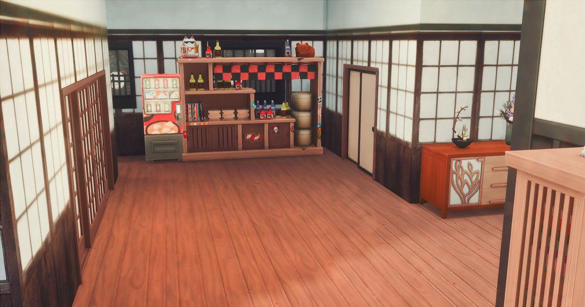 真田邸の玄関ホール