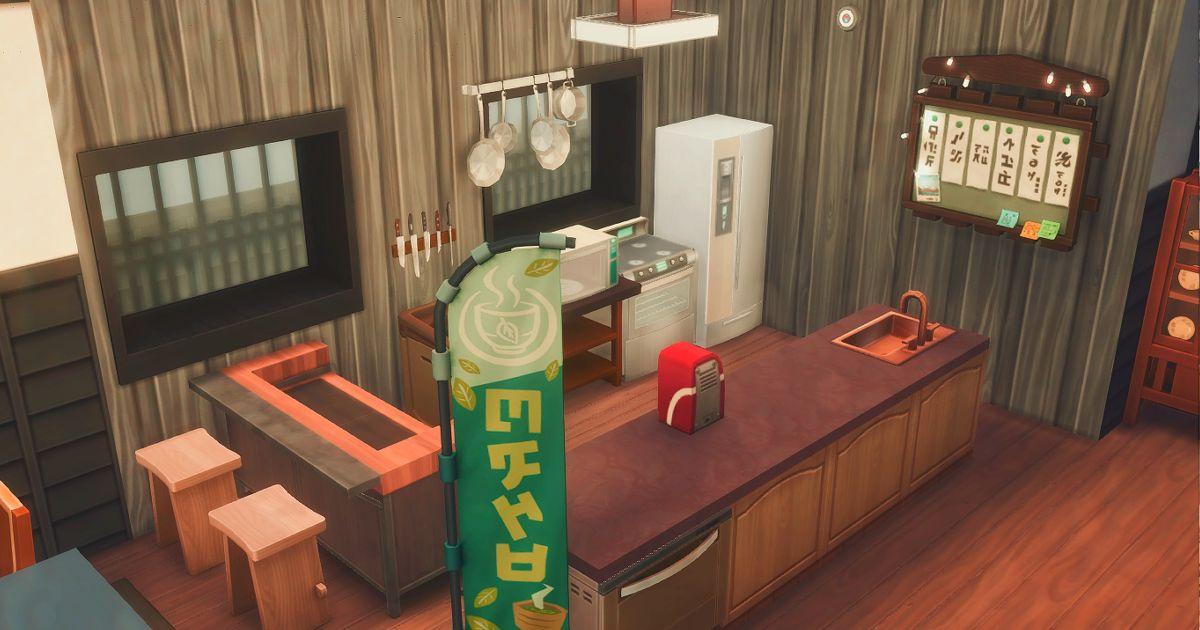 真田邸のキッチン