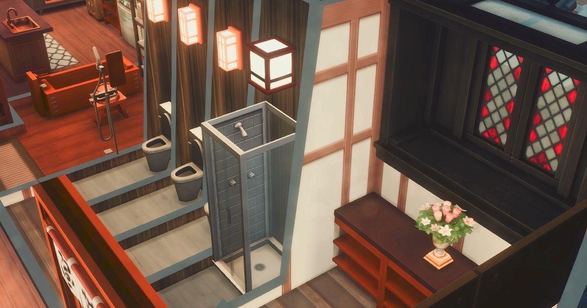 真田邸のトイレ