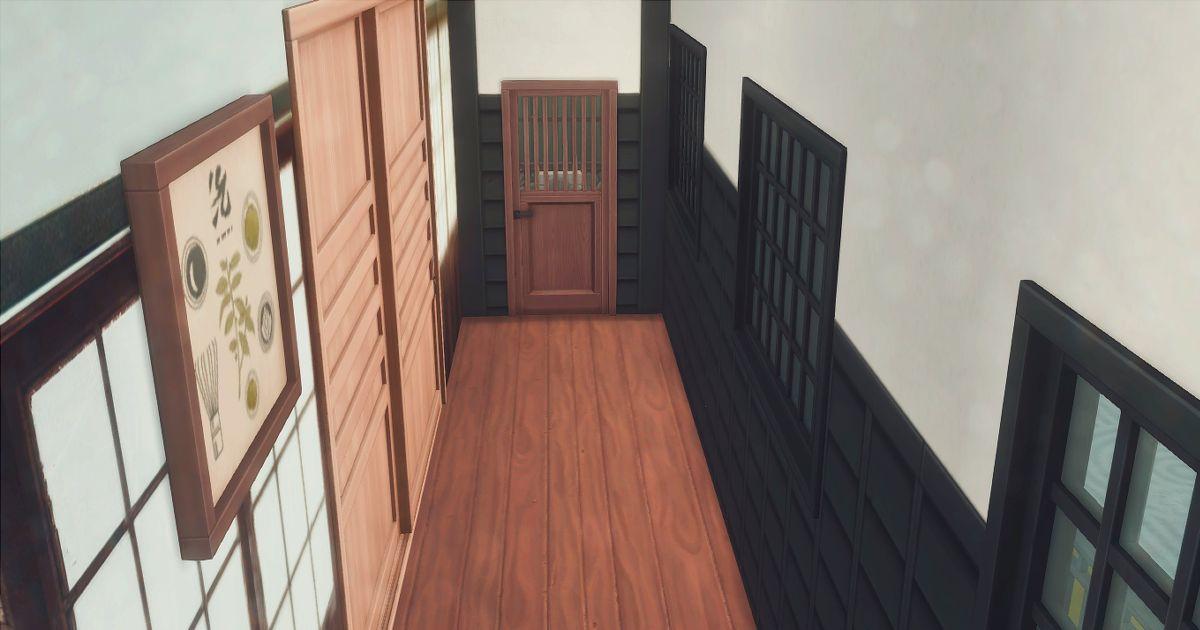 真田邸の個室トイレ