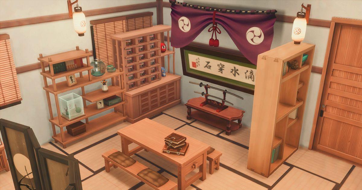 sims4の和室居間