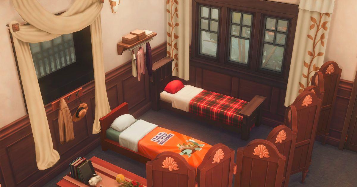 ブン太とジャッカルの寝室