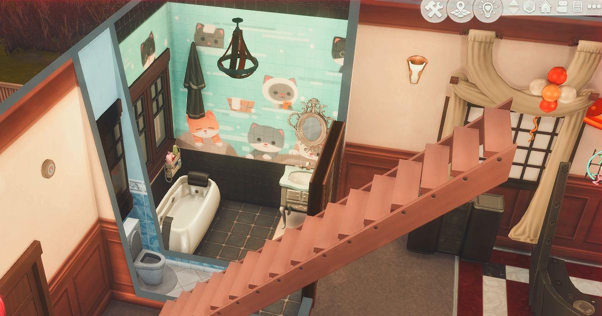 真田邸別邸の風呂とトイレ