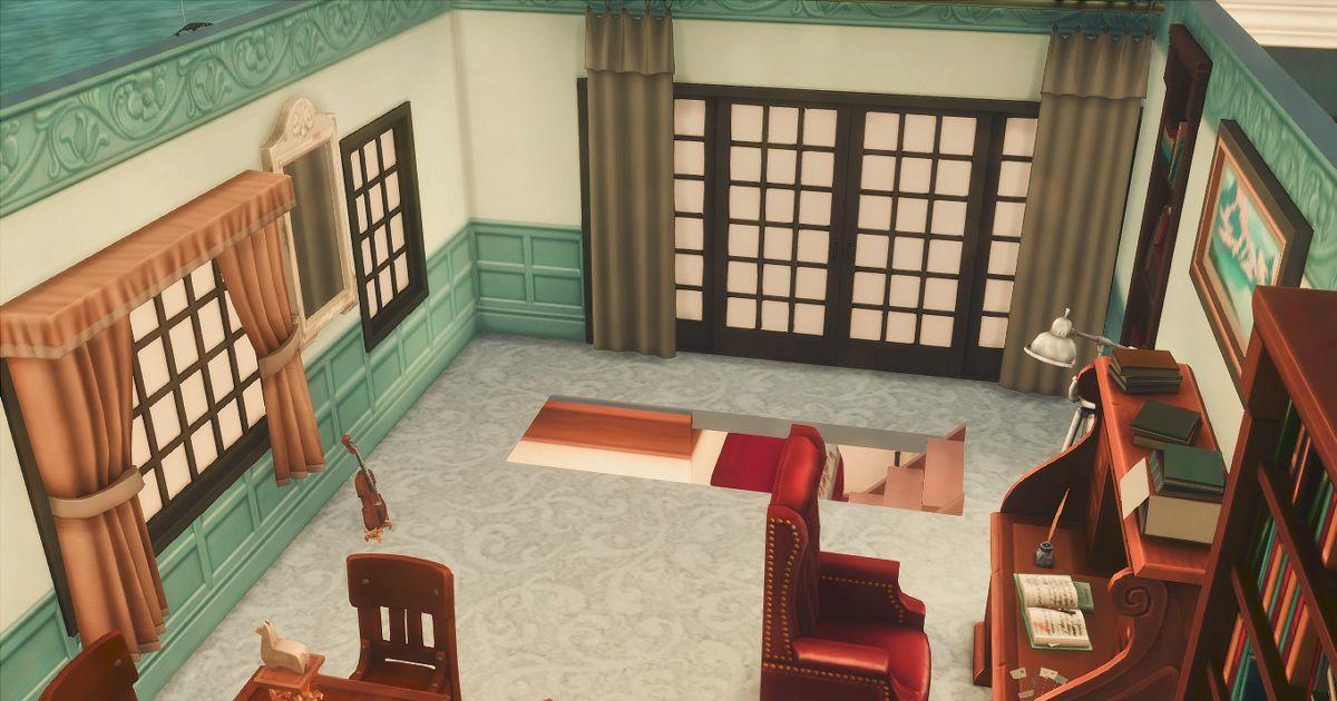 柳生の部屋入り口