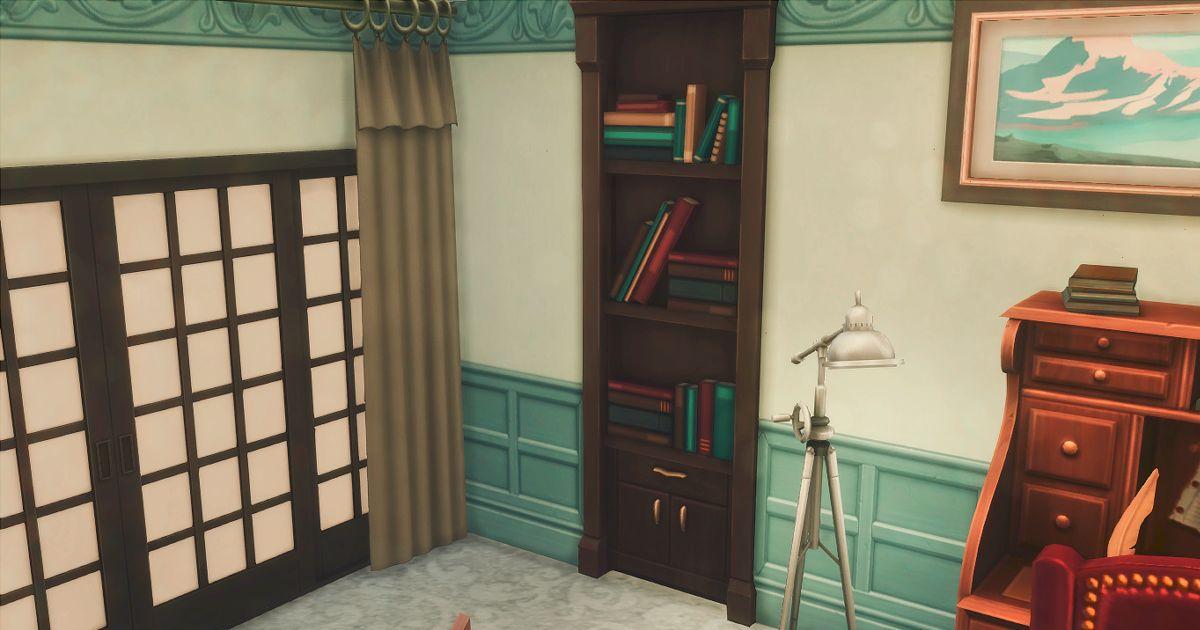 柳生の部屋の隠し扉