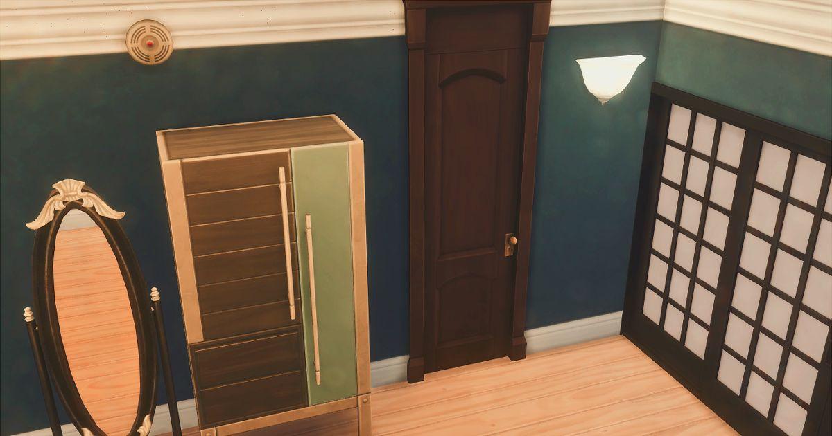 仁王の部屋の隠し扉