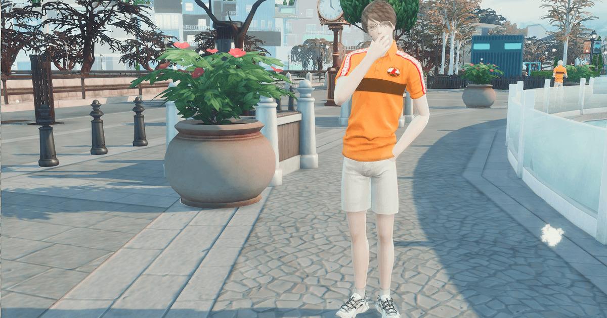 sims4で作成した柳生比呂士