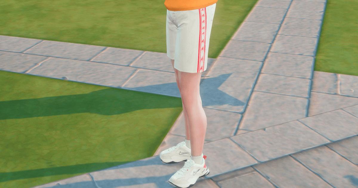 sims4で作成した立海ジャージのズボン