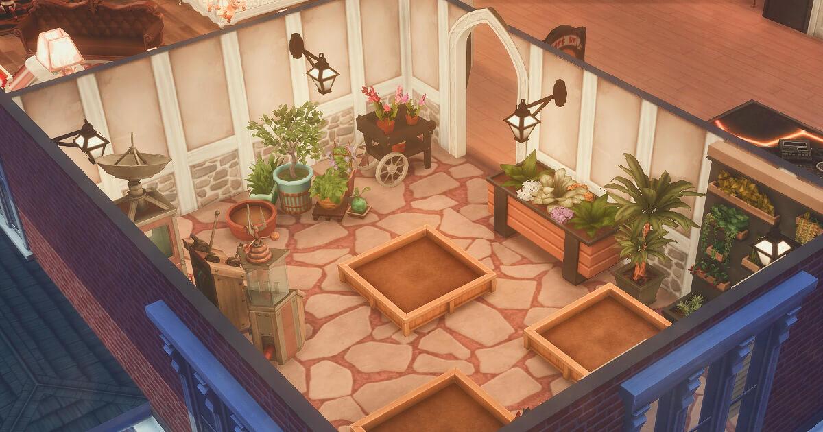 東雲家の家庭菜園