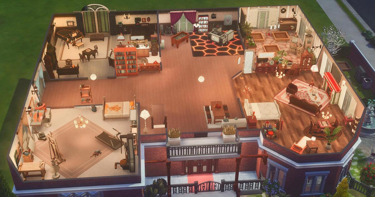 東雲家2階